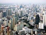 Bangkok z ptačí perspektivy