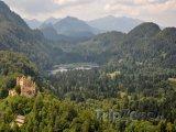 Bavorská příroda a zámek Hohenschwangau