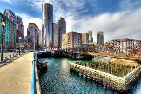 Boston, finanční čtvrť