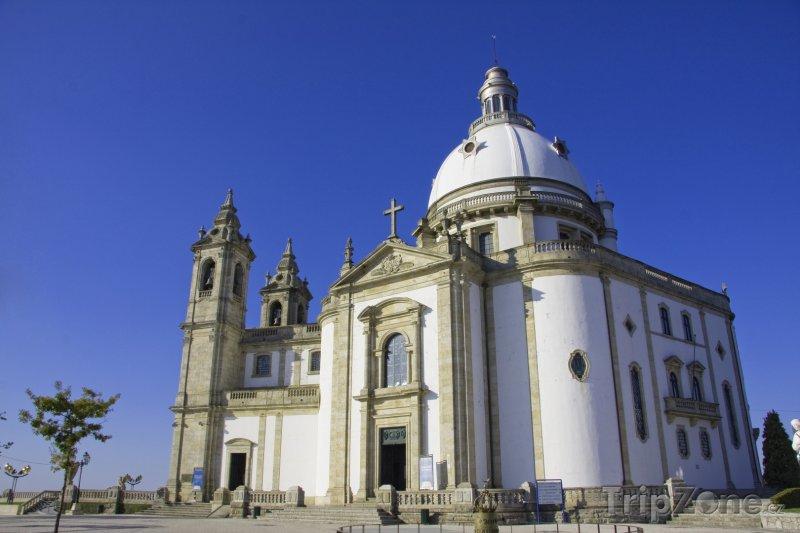 Fotka, Foto Braga, kostel Sameiro (Portugalsko)