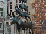 Brémy - socha umělce Gerharda Marckse