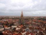 Bruggy, panoráma města, kostel Panny Marie
