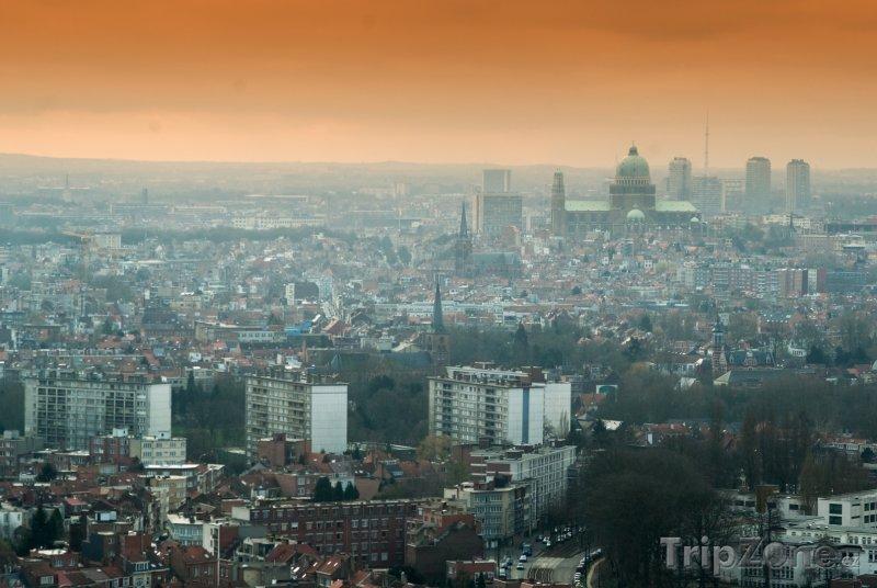 Fotka, Foto Brusel, panoráma města (Brusel, Belgie)
