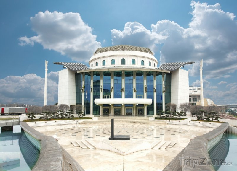 Fotka, Foto Budova Národního divadla (Budapešť, Maďarsko)
