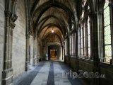 Burgos, chodba v katedrále
