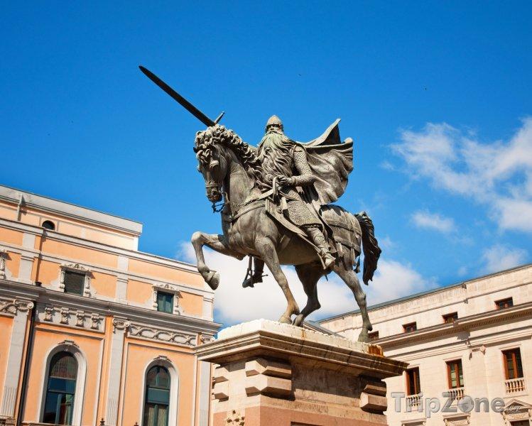 Fotka, Foto Burgos, Cidova socha (Španělsko)