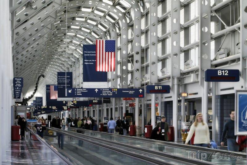 Fotka, Foto Chicagské letiště O'Hare (Chicago, USA)
