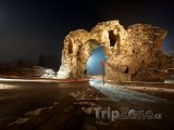 Chisarja, zbytky římského opevnění
