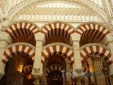 Córdoba, vnitřek mešity-katedrály