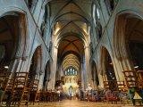 Dublin, katedrála sv. Patrika zevnitř