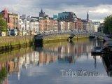Dublin, nábřeží řeky Liffey