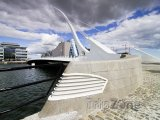 Dublinský Samuel Beckett Bridge