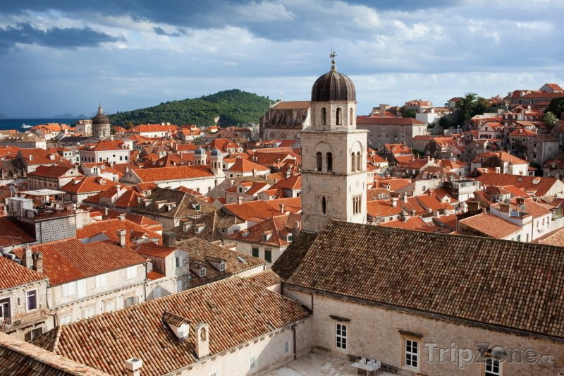 Fotka, Foto Dubrovnické střechy (Dubrovník, Chorvatsko)