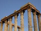 Évora, ruiny antického chrámu