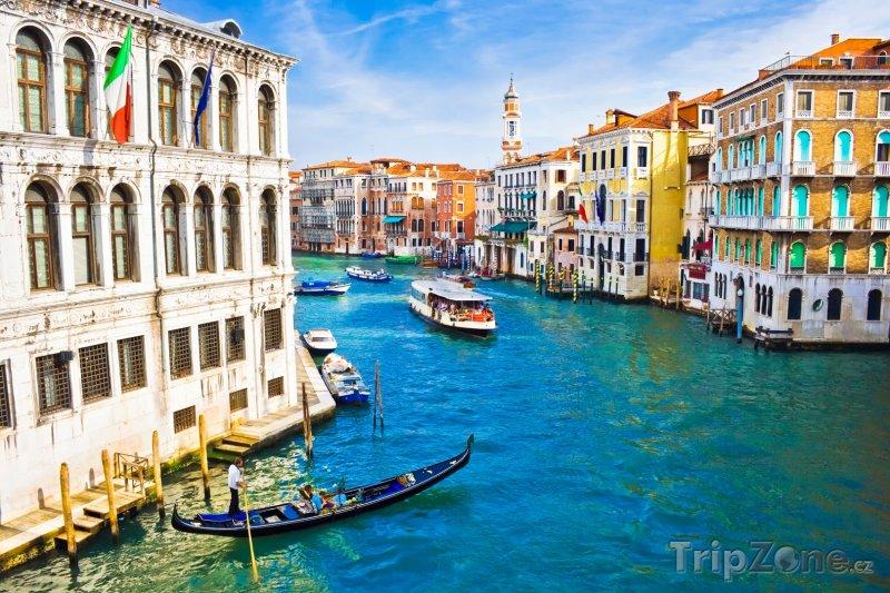 Fotka, Foto Grand Canal v Benátkách (Itálie)