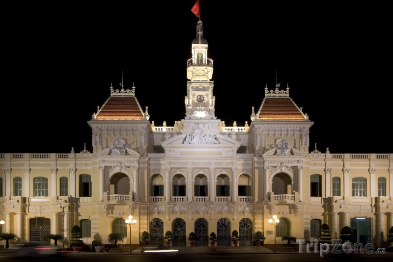 Fotka, Foto Ho Či Minovo město - radnice (Vietnam)