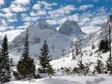 Hora Maljovica ve stejnojmenném zimním středisku