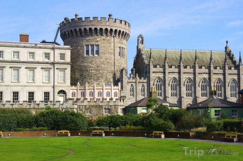 Fotka, Foto Hrad v Dublinu (Dublin, Irsko)
