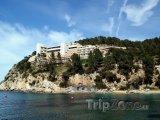 Ibiza, hotel na pobřeží