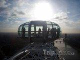 Kabinka vyhlídkového kola London Eye