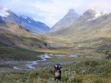 Krajina v Národním parku Sarek
