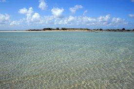 Kréta - pláž Elafonissi