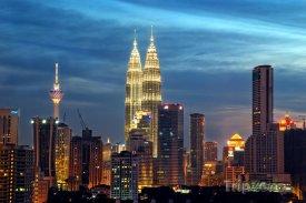 Kuala Lumpur za soumraku