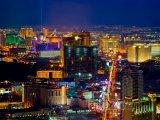 Las Vegas, pohled na noční město