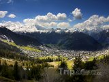 Les 4 Vallées, pohled na Verbier