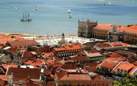 Lisabon, pohled na nábřeží