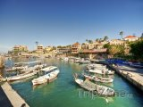 Malý přístav ve městě Byblos
