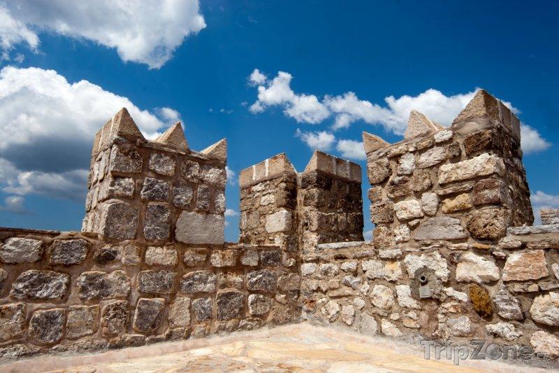 Fotka, Foto Marmaris, cimbuří hradu (Egejská riviéra, Turecko)