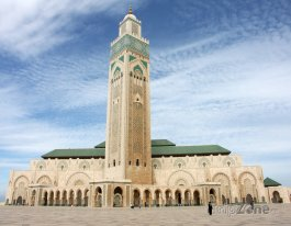 Moderní mešita Hassana II. v Casablance