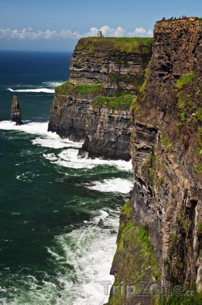 Fotka, Foto Moherské útesy, hrabství Clare (Irsko)