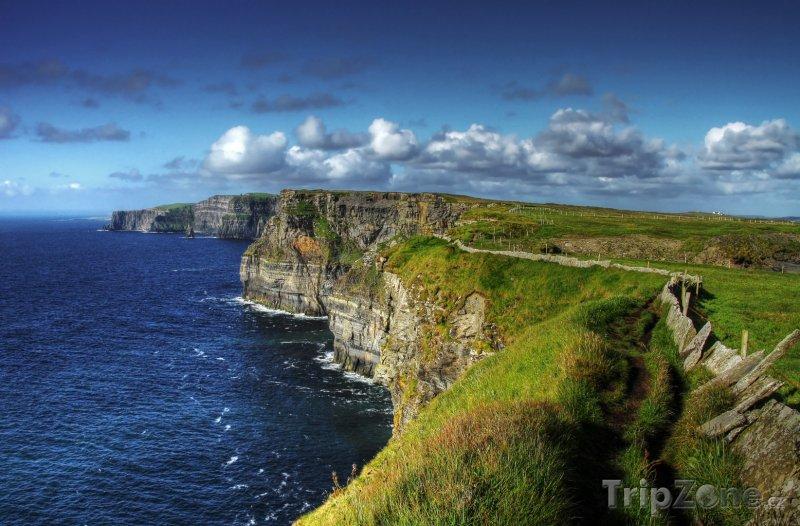 Fotka, Foto Moherské útesy na pobřeží Atlantiku (Irsko)