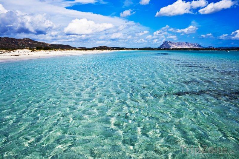 Fotka, Foto Nádherná pláž na Sardinii (Sardinie, Itálie)