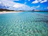 Nádherná pláž na Sardinii