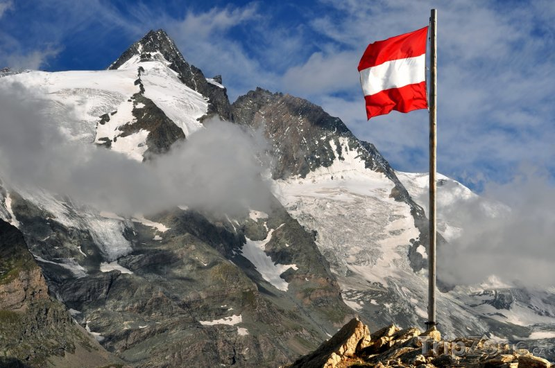 Fotka, Foto Nejvyšší hora Rakouska Grossglockner (Rakouské Alpy, Rakousko)