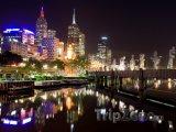 Noční Melbourne