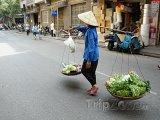 Obchodník na ulici Hanoje
