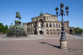 Opera v Drážďanech - Semperoper