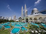 Petronas Twin Towers v Kuala Lumpuru