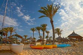 Pláž na Djerbě