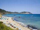 Pláž na ostrově Ibiza