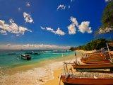 Pláž na ostrově Nusa Lembongan