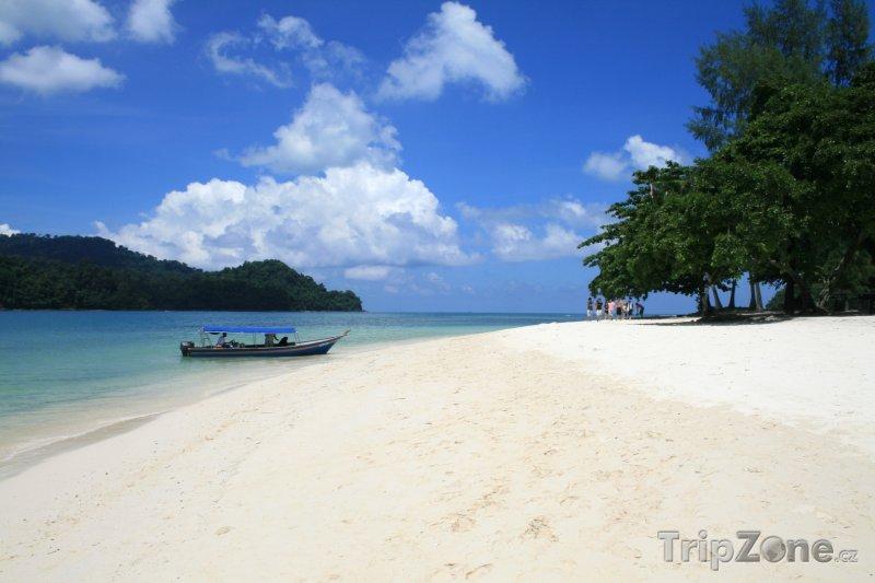 Fotka, Foto Pláž na souostroví Langkawi (Malajsie)