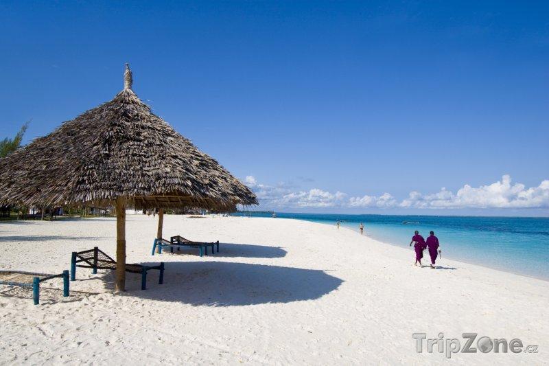 Fotka, Foto Pláž na Zanzibaru (Tanzanie)