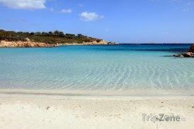 Pláž poblíž města Olbia