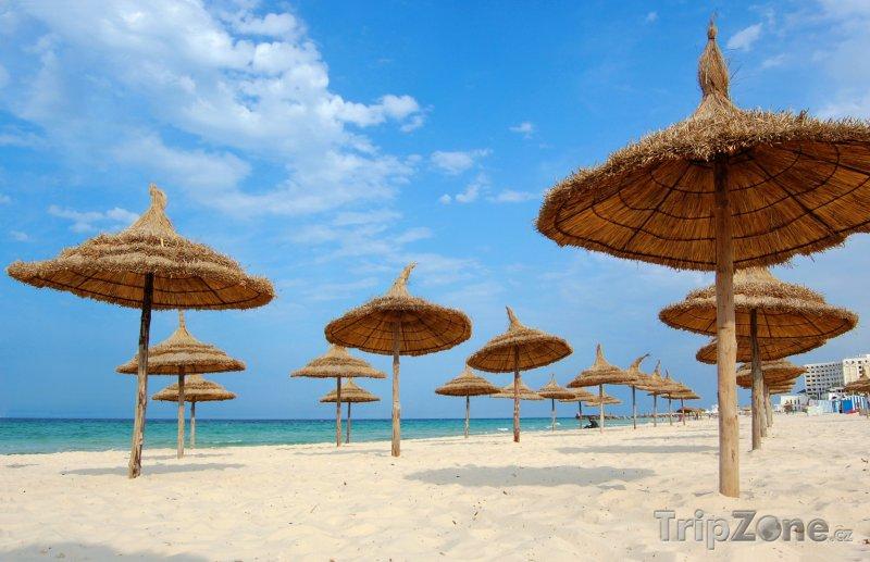 Fotka, Foto Pláž ve městě Suss (Tunisko)