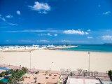 Pláž ve městě Tangier